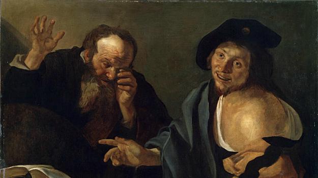 """Leucippus of Miletus and his student Democritus of Abdera come up with the """"atom"""""""