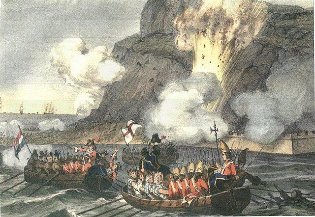 Pérdida de Gibraltar a manos de los musulmanes