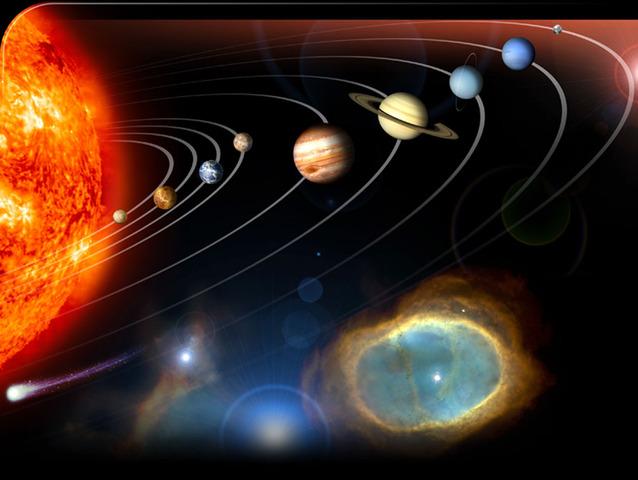 (5 Billion years ago) Birth of the solar systems