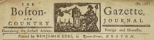 Phillips & the Boston Gazette