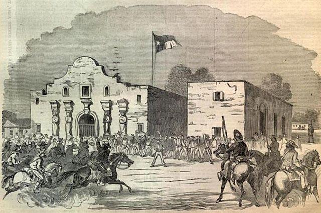 Battle at the Alamo