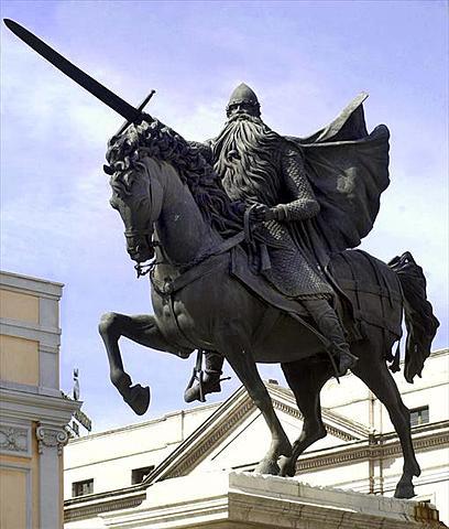 El Cid conquista la Taifa de Valencia