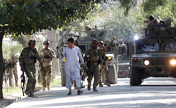 Osama Bin Laden aided by Taliban