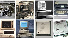 Generacion de computadoras timeline