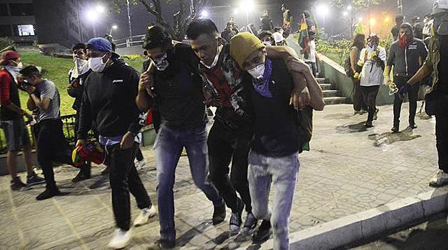 Conflictos sociales dejan el saldo de 29 personas heridas y 57 detenidas
