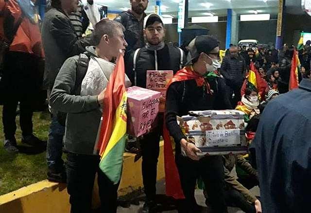 Conade pide anular la última elección en Bolivia