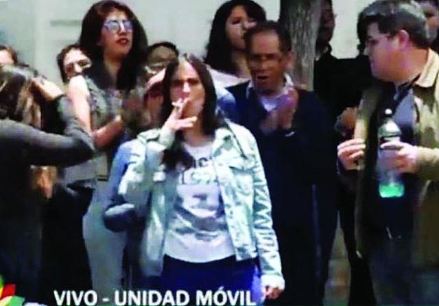 La ministra Montaño y la diputada Silva agitan arremetida contra manifestantes