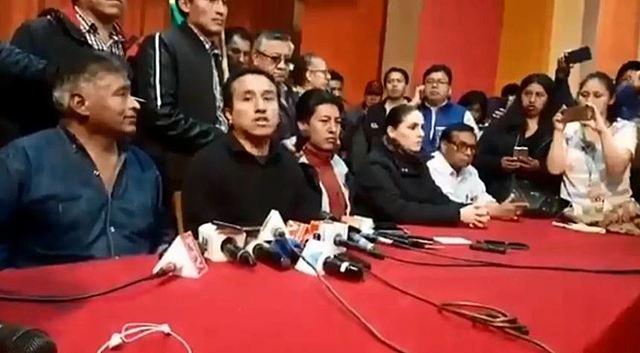 Comités cívicos del país apuntan a anular las elecciones y pide la renuncia de Morales y Linera