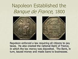 Napoleon Establishes Bank of France
