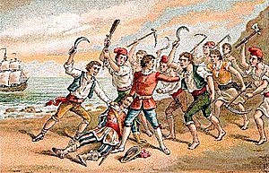 Les tropes castellanes ocupen Barcelona.