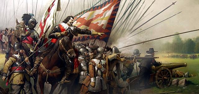 Comienzo Guerra de los Treinta Años.