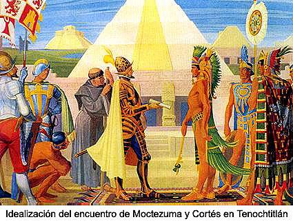 Hernán Cortés En Tenochtitlan.