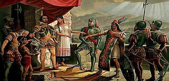 Arresto De Moctezuma En Su Propio Palacio.