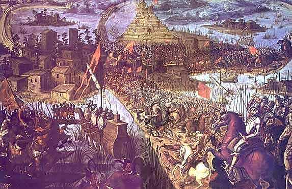 Caída De Tenochtitlan Y Captura De Cuauhtemoc.