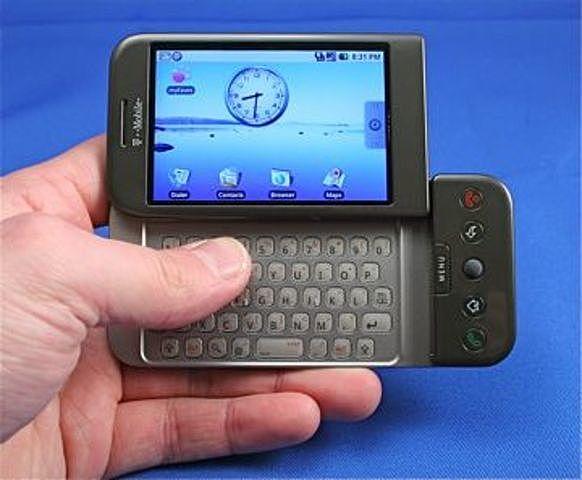 HTC G1.