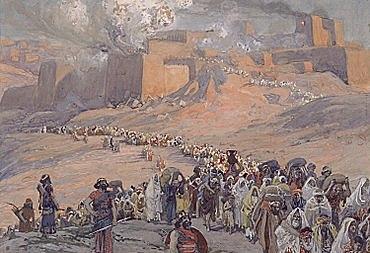 Destierro en Asiria del Reino de Israel