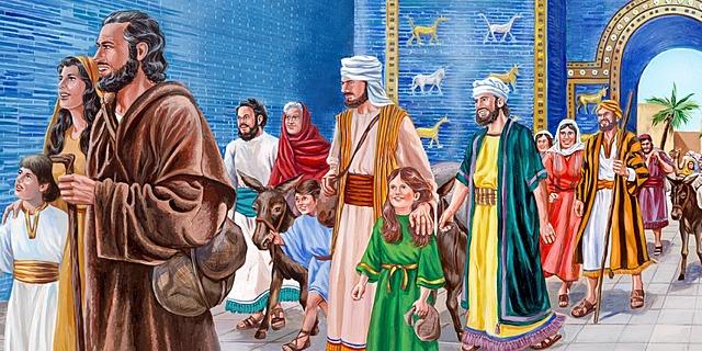 Los Judíos regresan a la tierra prometida