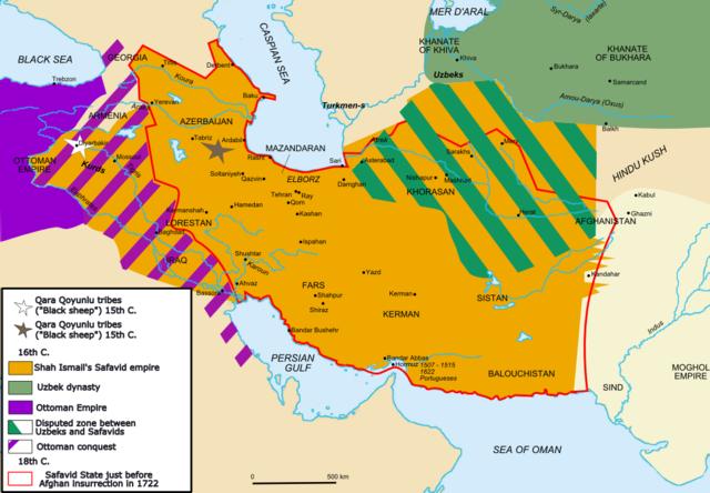 Start of Safavid Empire