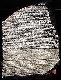 The Rosetta Stone Breakthrough