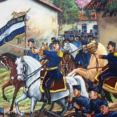 DESARROLLO HISTÓRICO SALVADOREÑO (Realizado por: Silvia Olivar y Alejandra Rodríguez) timeline