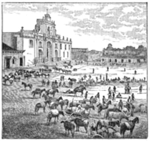 Conquista de C.A ''Ciudad de los Caballeros de Guatemala''