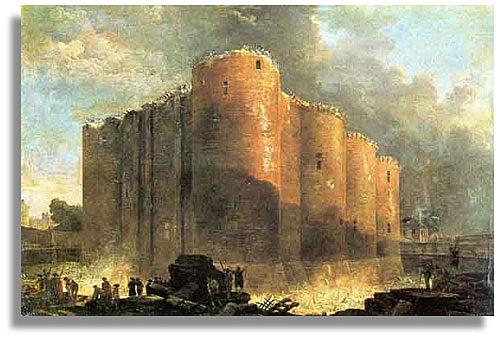 Beginning of French Revolution/Storming of Bastille