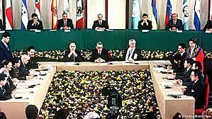 ''Firma de los Acuerdos de Paz''