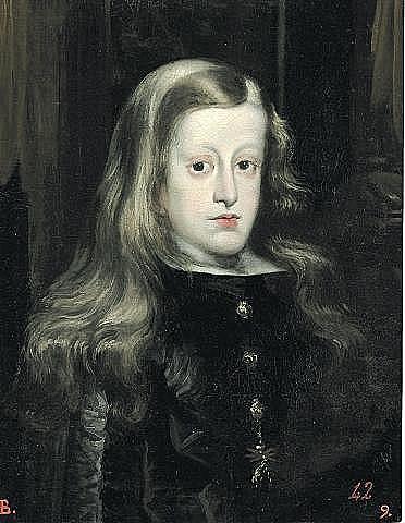 Proclamación de Carlos II como rey