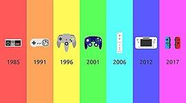 Timeline dos cinco consoles mais famosos da Nintendo