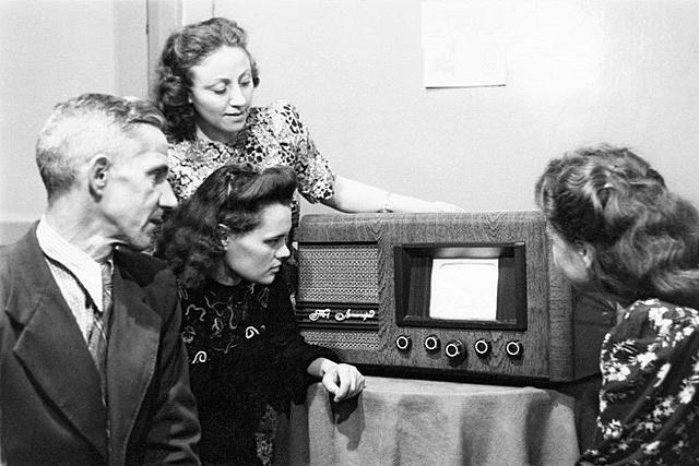 Первый опытный сеанс телевещания в СССР