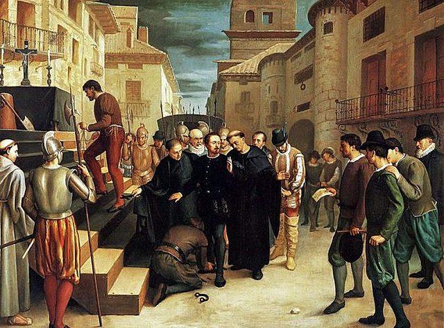 Revueltas en Aragón (1590/1591)