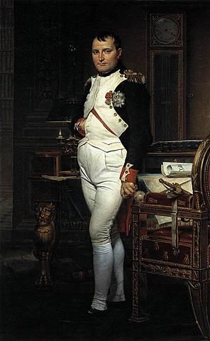 Napoleó en el seu estudi