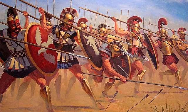 Persas son derrotados en la batalla de Maratón. Fin de la I Guerra Médica.