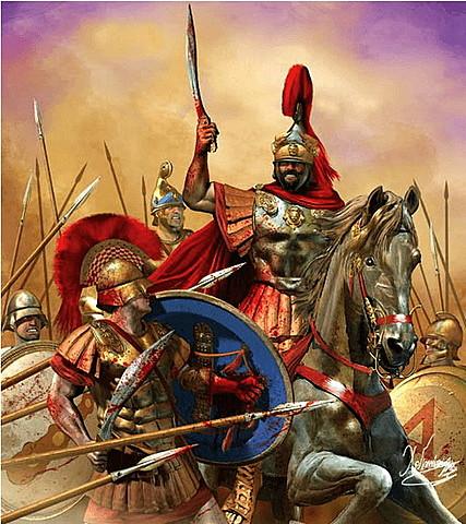 Los estados griegos constituyen la Liga Helénica contra Filipo