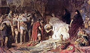 Muerte de Alejandro en Babilonia