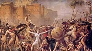 Conquista romana. Batalla de Corinto.