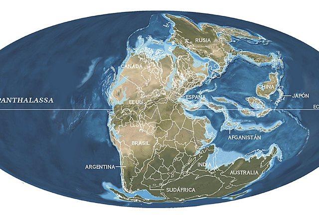 Teoría de la formación de los primeros continentes