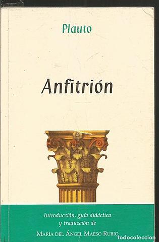 """""""Anfitrión""""; Plauto"""