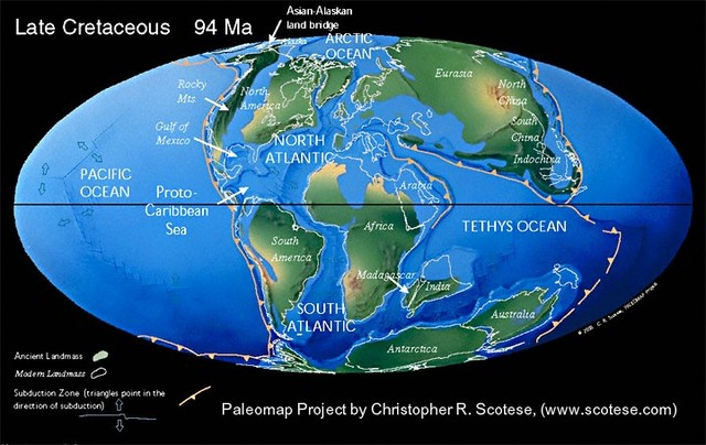 Formation of Continents