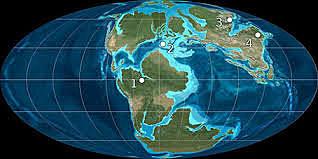 Masas continentales y océanos