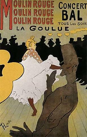 Cartel de Moulin Rouge