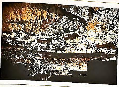 Los primitivos africanos y europeos dejaron pinturas en cuevas
