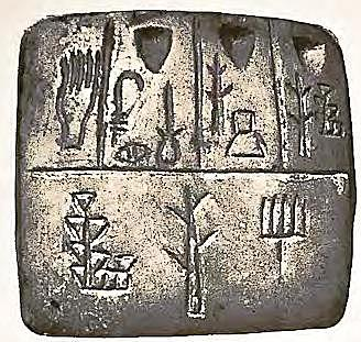 Las tablillas de arcillas eran un medio de escritura.
