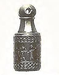 Los egipcios utilizaron sellos cilíndricos y marcas registradas en artículos como la cerámica.