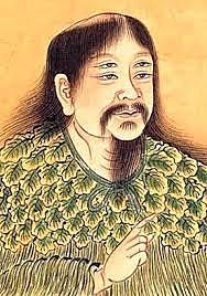 El primer  que escribió en chino fue T's ang chieh, escritura llamada jiaguwen ''escritura en caparazones y huesos''