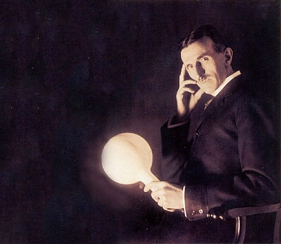 Индукционную лампа Тесла