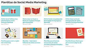 Modelo Canvas del plan de marketing digital
