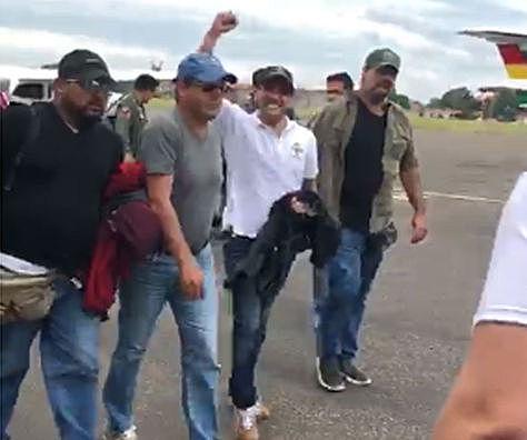 Camacho anuncia que volverá a La Paz las veces que sea necesario