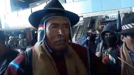 Ponchos rojos hablan de 'matar' a Camacho