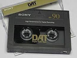 Caseteras de cinta magnética (DAT):